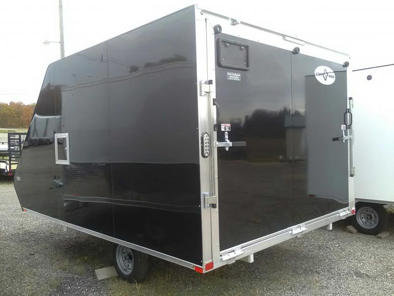2020 Sport Haven 13' Hybrid Snowmobile Trailer