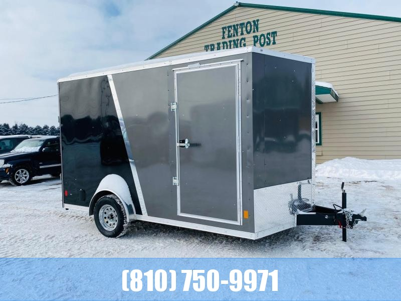 2021 Darkhorse Cargo 7.5X12 with Brakes Enclosed Cargo Trailer