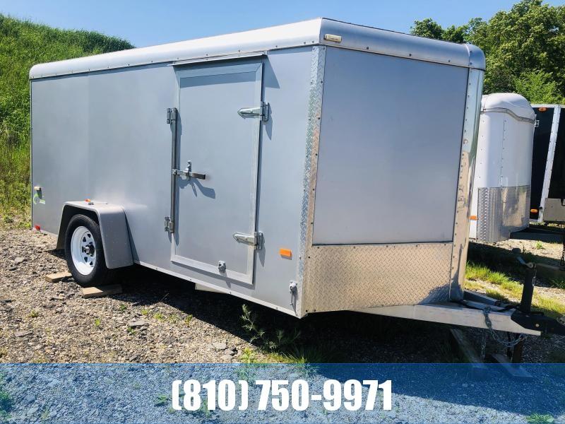 Used 2011 NEO Trailers 7x12 Aluminum Enclosed Cargo Trailer