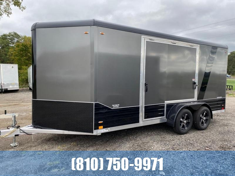 2022 Legend Trailers 7x19 (16' Box + 3' V-Nose) Deluxe V-Nose Enclosed Cargo Trailer
