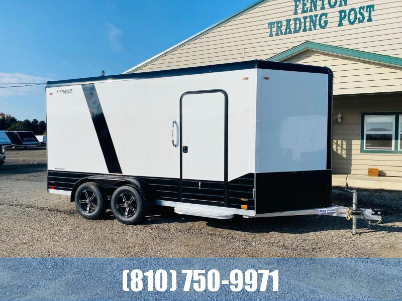 2022 Legend Trailers 7x19 (16' Box + 3' V) Deluxe V-Nose Aluminum Enclosed Cargo Trailer