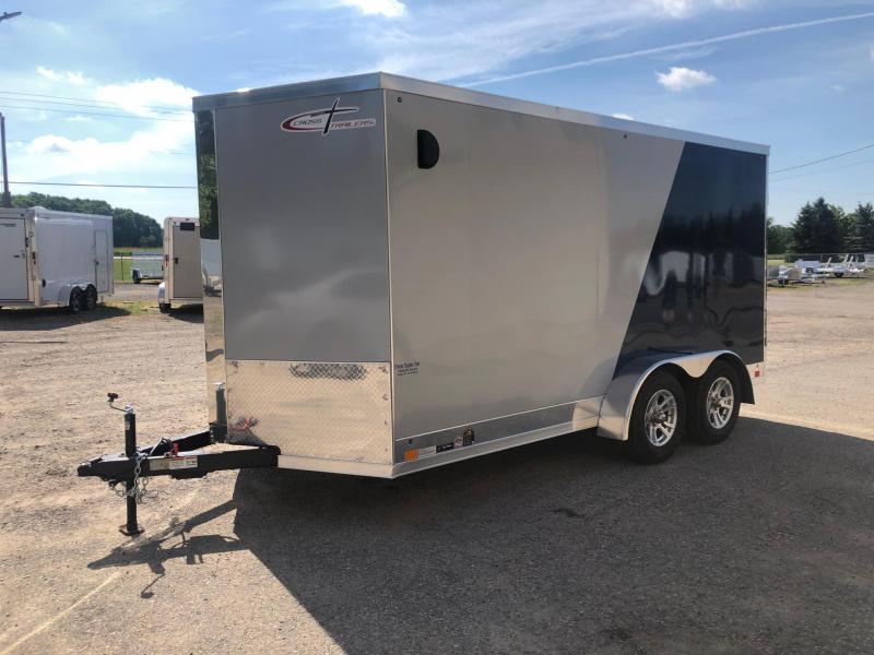 2021 Cross Trailers 7 x 14 TA Enclosed Cargo Trailer