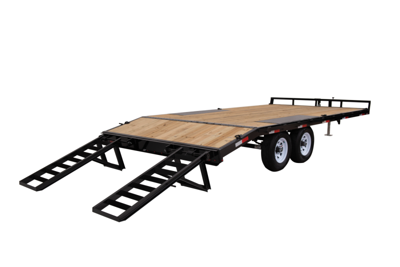 2021 Sure-Trac 8.5x17+3' Beavertail Deckover Equipment Trailer