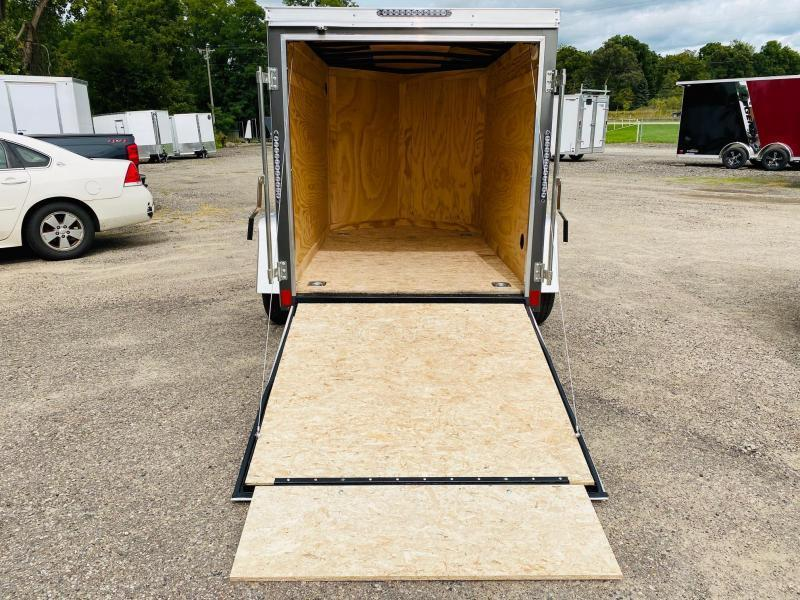 2021 Darkhorse Cargo 5X8 Enclosed Cargo Trailer