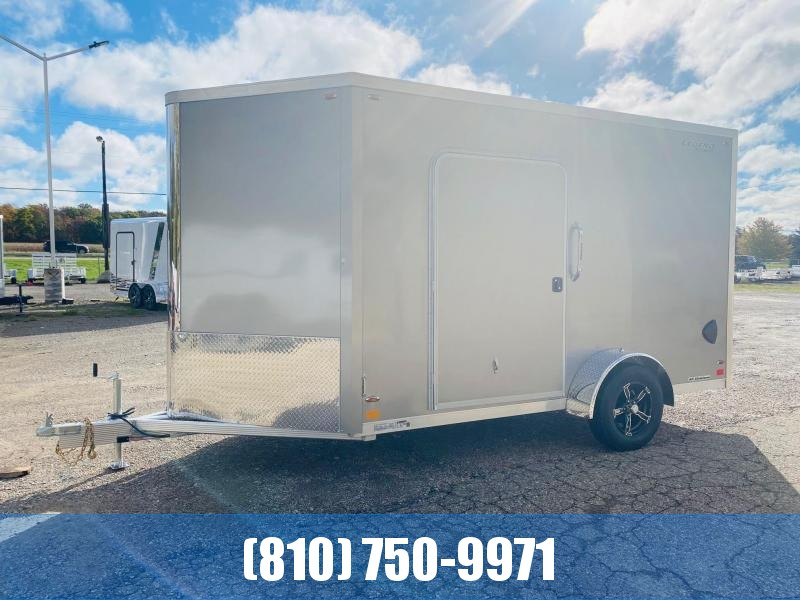 2022 Legend Trailers 7x15 (12' Box + 3' V-Nose) Aluminum Enclosed Cargo Trailer