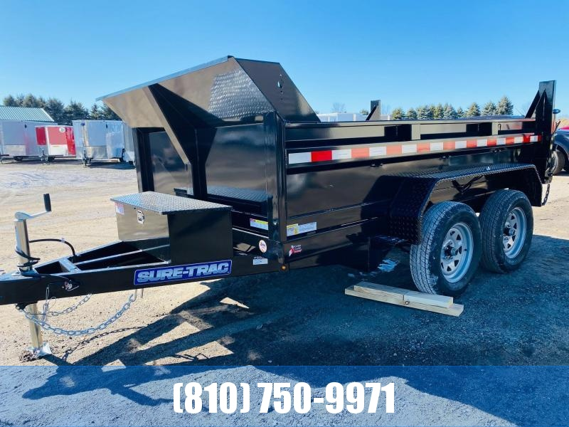 2021 Sure-Trac 6x10 7K Dump Trailer