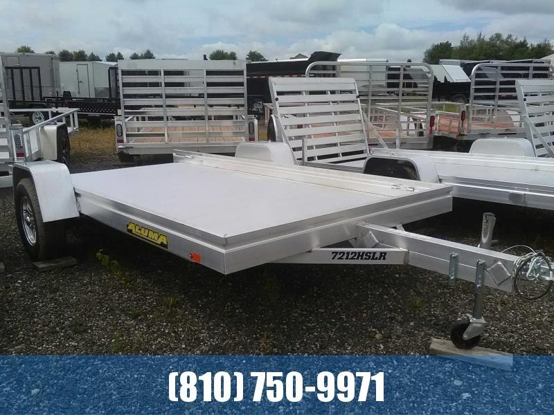 2020 Aluma 7212HSLR 6x12 All-Aluminum Trailer