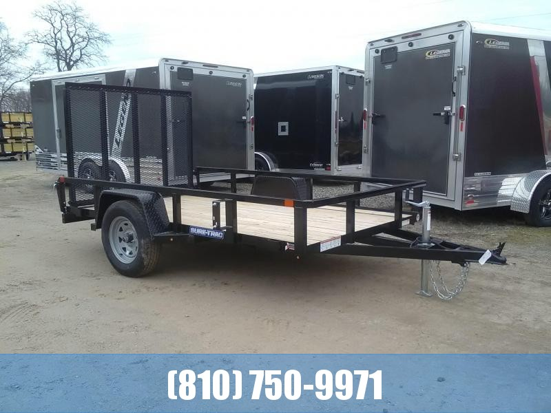 2021 Sure-Trac 6x10 Tube Top Utility Trailer