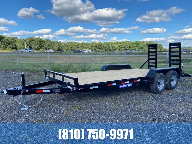 2021 Sure-Trac 7x18 10K Equipment Trailer