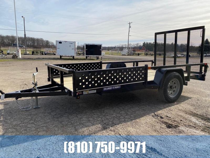 2021 Sure-Trac 6x12 Tube Top ATV Trailer
