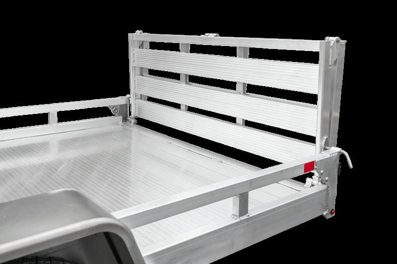 2022 Sure-Trac 7x12 Aluminum Low Side Utility Trailer