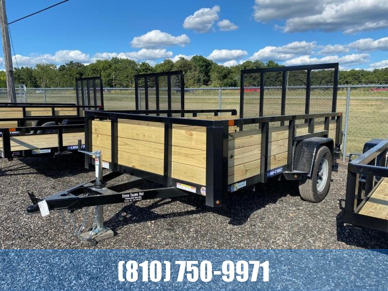 2021 Sure-Trac 6x10 3-Board High Side Utility Trailer