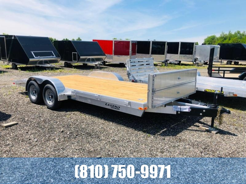 2021 Legend Trailers 7X18OCHTA35 Car / Racing Trailer