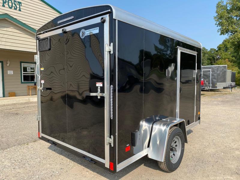 2021 Darkhorse Cargo 6x10 Round Top Enclosed Cargo Trailer