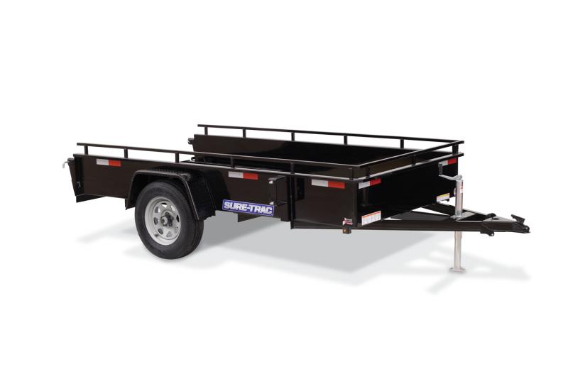2022 Sure-Trac 6x12 Steel High Side Utility Trailer