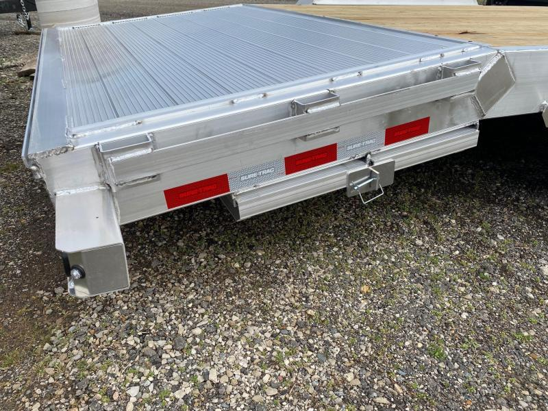 2021 Sure-Trac 7x20 10K Aluminum Car / Racing Trailer