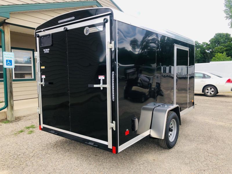 2021 Darkhorse Cargo 6x12 Round Top Enclosed Cargo Trailer