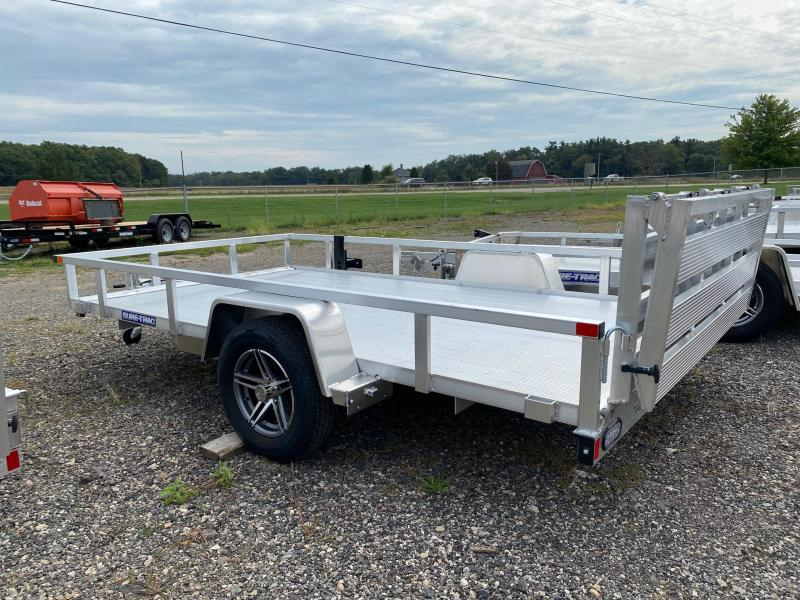 2022 Sure-Trac 7x12 Aluminum Tube Top Utility Trailer