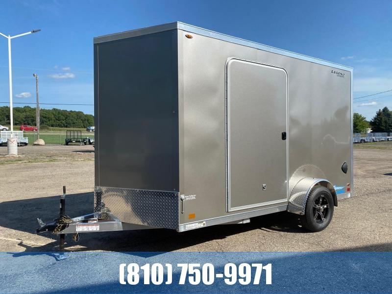 2022 Legend Trailers 7x14 (12' Box + 2' V-Nose) Thunder Aluminum Enclosed Cargo Trailer