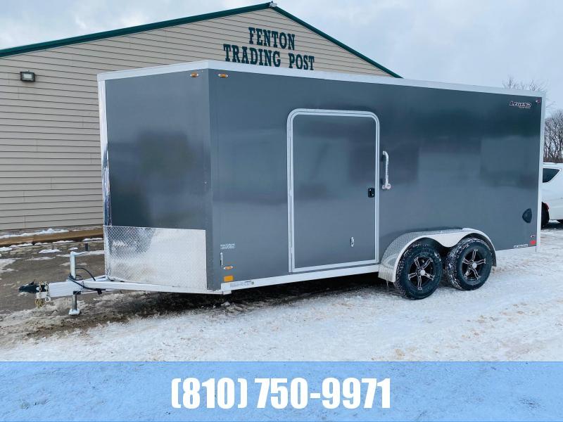 2021 Legend Trailers 7x19 (16' Box + 3' V-Nose) All Aluminum Enclosed Cargo Trailer