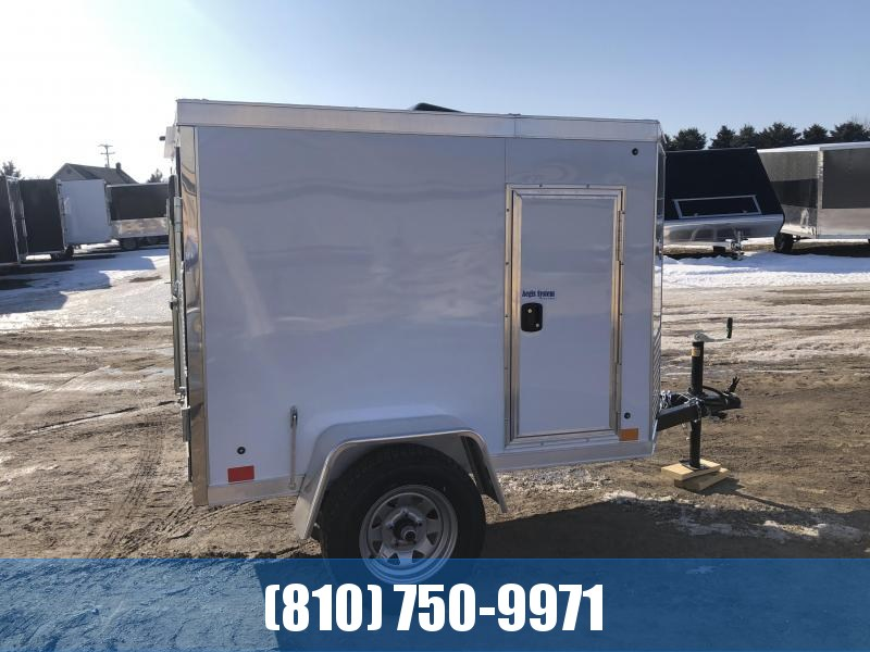 ***SPECIAL ORDER ONLY - NOT IN STOCK*** 2021 Cross Trailers 4x6 Enclosed Cargo Trailer