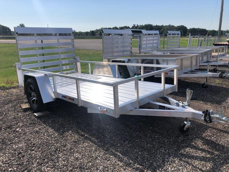 2021 Sport Haven 5x10 All-Aluminum Utility Trailer