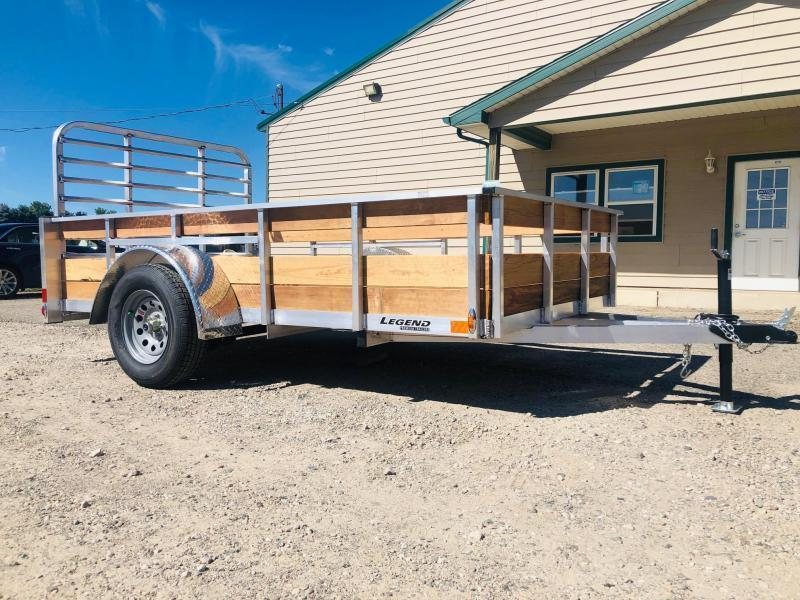 2021 Legend Trailers 6X12 High Side Utility Trailer