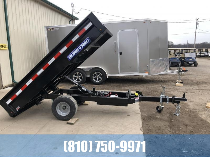 2021 Sure-Trac 4.5' x 8' Homeowner Dump Trailer