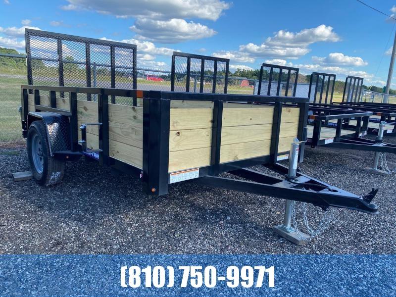 2021 Sure-Trac 6x10 3-Board High Side Utility Trailer