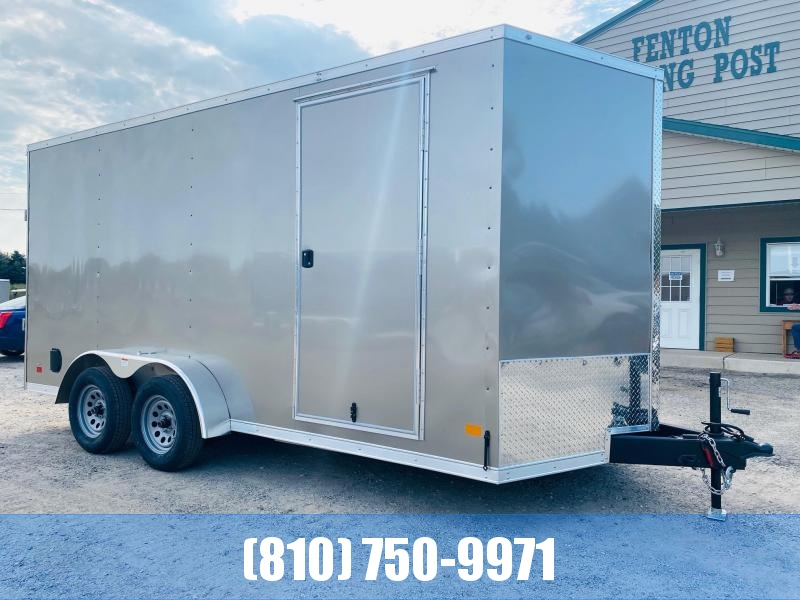 2021 Darkhorse Cargo 7X16 Enclosed Cargo Trailer