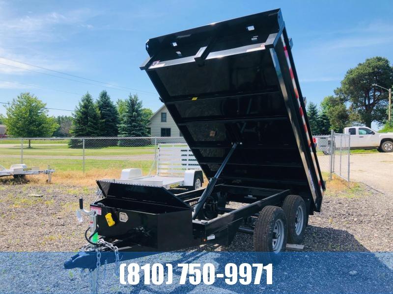 2020 Sure-Trac 6 X 10 10K SD Deckover Dump Dump Trailer