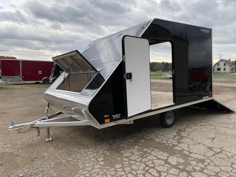 2021 Legend Trailers 8.5X13 Sport Lite Hybrid Snowmobile Trailer