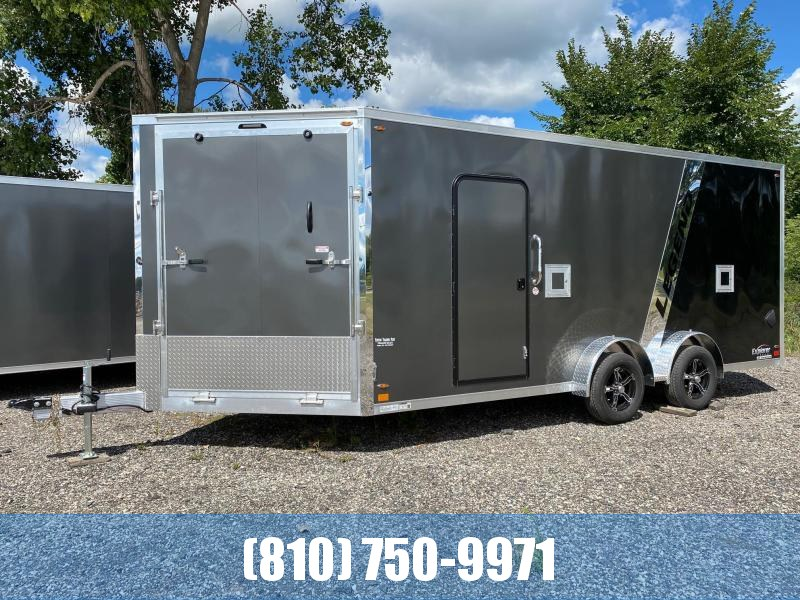 2021 Legend Trailers 7.5X23ETA35 Snowmobile Trailer