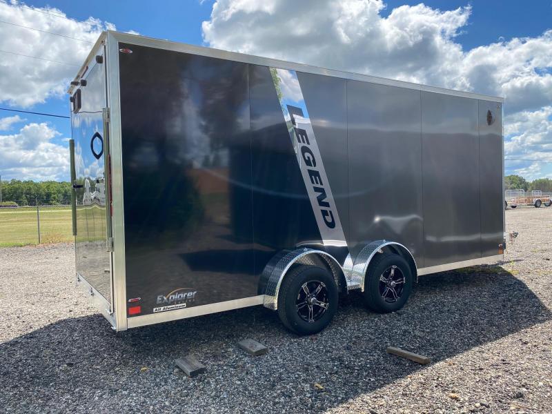2021 Legend Trailers 7.5X23ETA35 Snowmobile Trailer