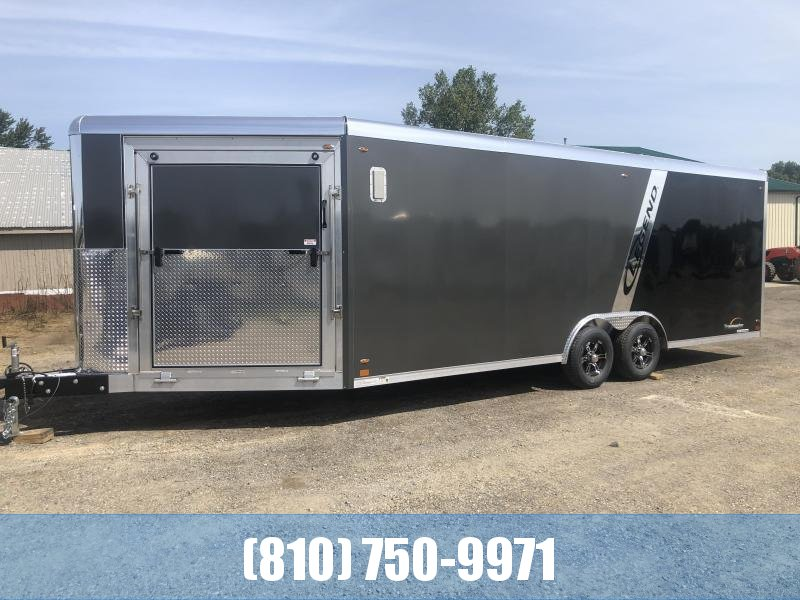 ***SPECIAL ORDER ONLY - NOT IN STOCK*** 2020 Legend Manufacturing Trailmaster 8.5x28 Snowmobile Trailer