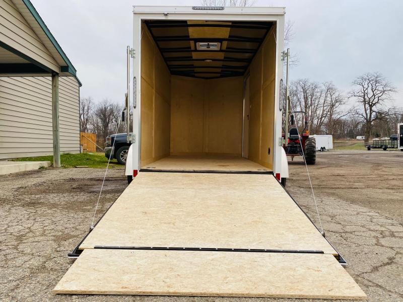 2021 Darkhorse Cargo 6x12 V-Nose Enclosed Cargo Trailer