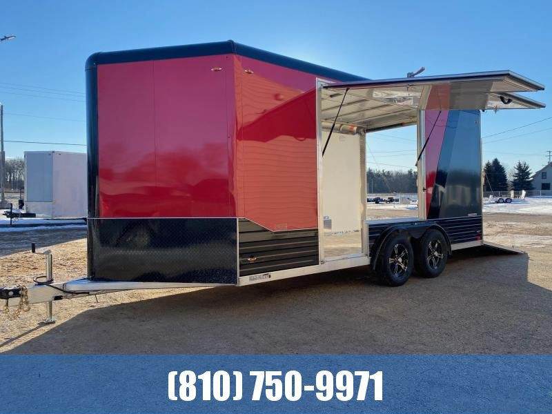 2021 Legend Trailers 8X19 Deluxe V-Nose Enclosed Cargo Trailer