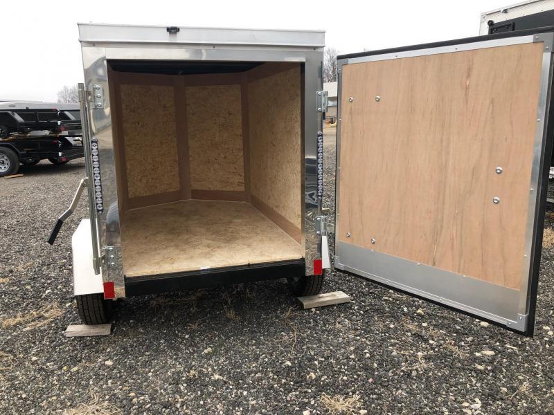 2021 Cross Trailers 4x6 Enclosed Cargo Trailer