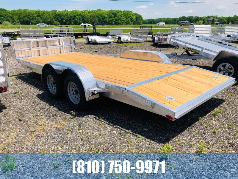 2021 Legend Trailers 7x18 Aluminum Car Hauler