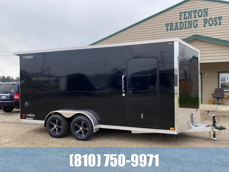 2021 Legend Trailers 7X18 Explorer V-Nose Enclosed Cargo Trailer