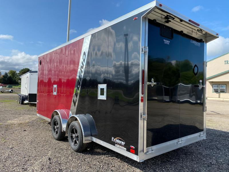 2021 Legend Trailers 7.5X23 Explorer Snowmobile Trailer