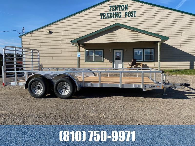 2021 Legend Trailers 7X16 Aluminum Utility Trailer
