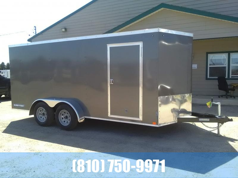 2020 Sure-Trac ST 7x16 Enclosed Cargo Trailer