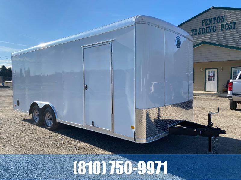 2021 Darkhorse Cargo 8.5x20 Round Top Enclosed Cargo Trailer