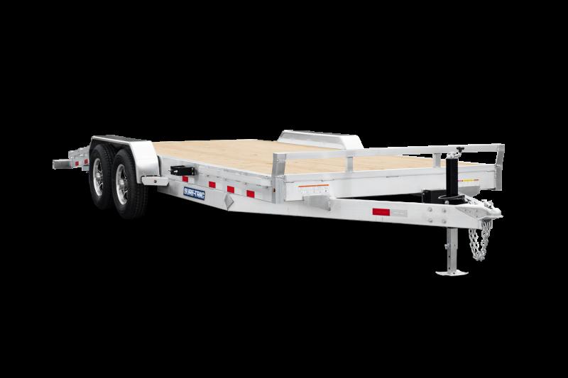 2021 Sure-Trac 7x20 10K Aluminum Car / Racing Trailer