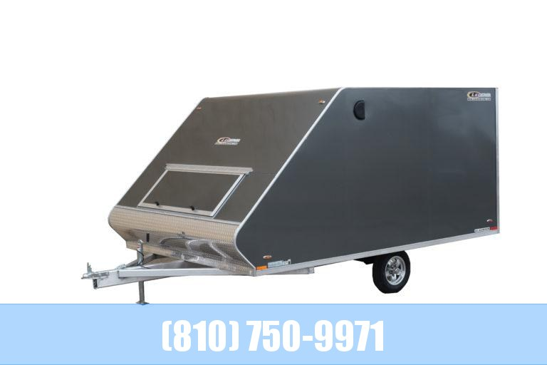2021 Legend Trailers 8.5X13 Hybrid Snowmobile Trailer