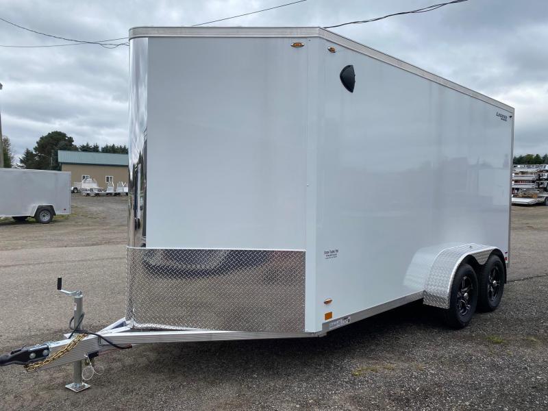 2022 Legend Trailers 7x17 (14' Box + 3' V-Nose) Flat-Top V-Nose Enclosed Cargo Trailer