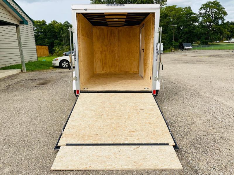 2021 Darkhorse Cargo 6x10 V-Nose Enclosed Cargo Trailer
