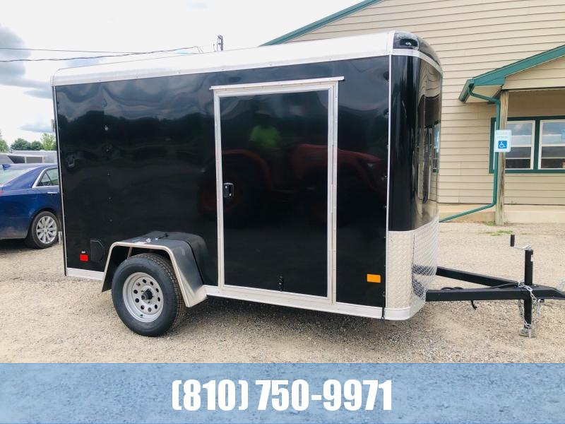 2021 Darkhorse Cargo 6x10 Round Top Enclosed Cargo Trailer