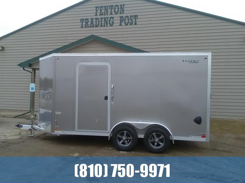 2020 Legend 7x17 Flat-Top V-Nose Enclosed Cargo Trailer